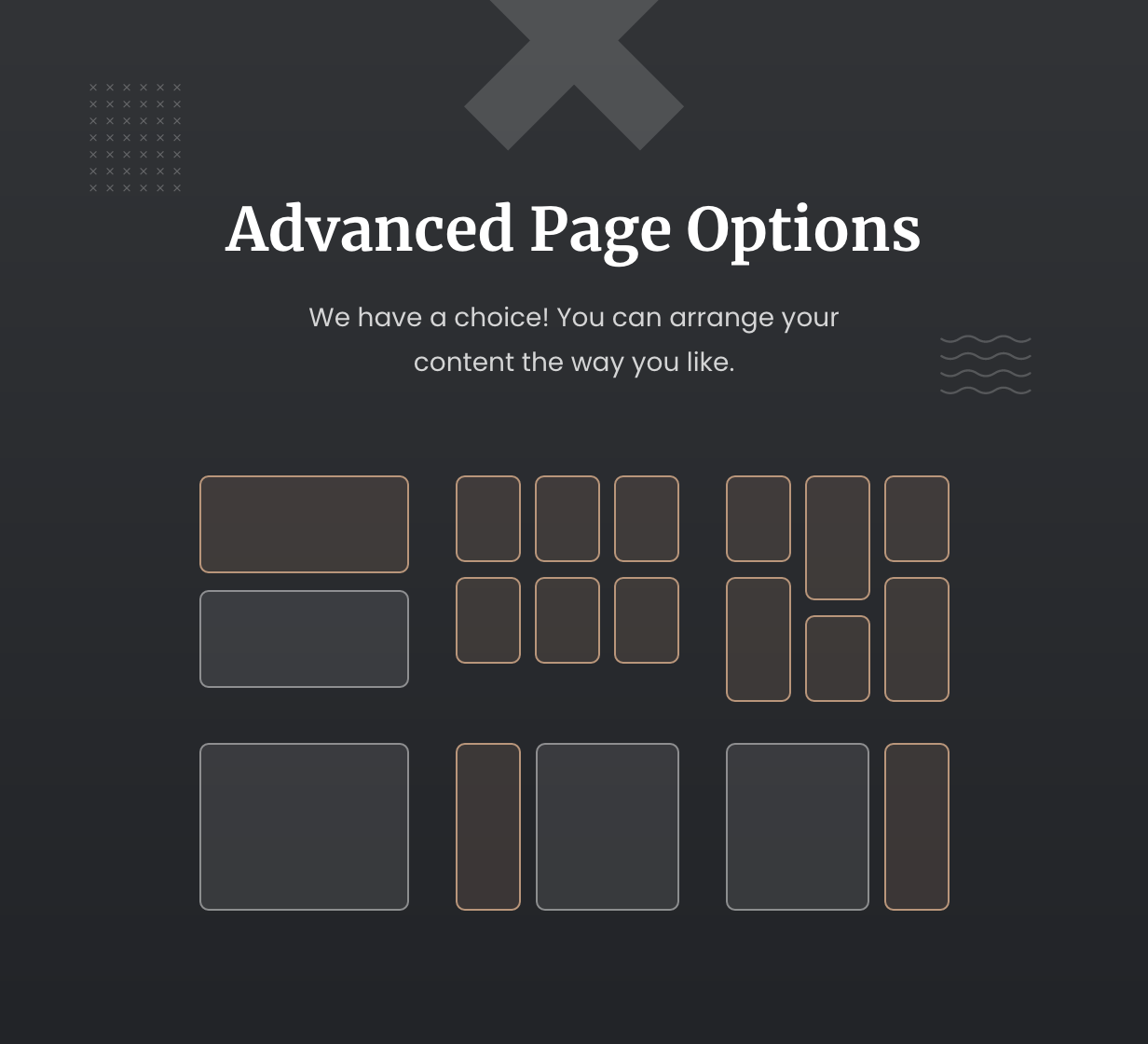 Gase Page Options